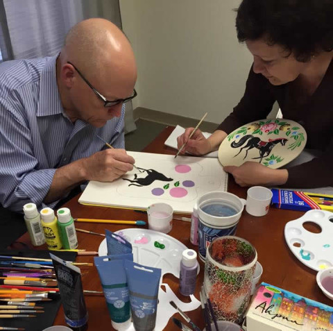 painting classes charlotte NC