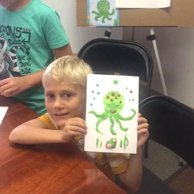 Virtuoso kid art class