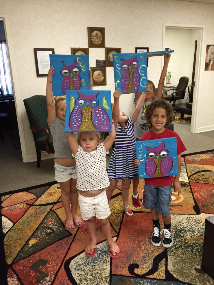 Kids Art Classes NC