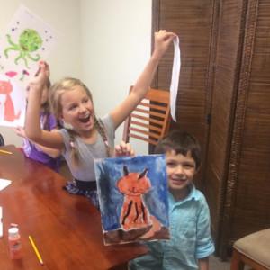 kid art class